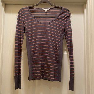 Victoria's Secret Striped Thermal